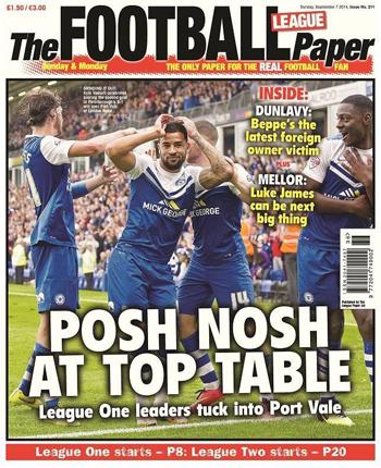 league paper